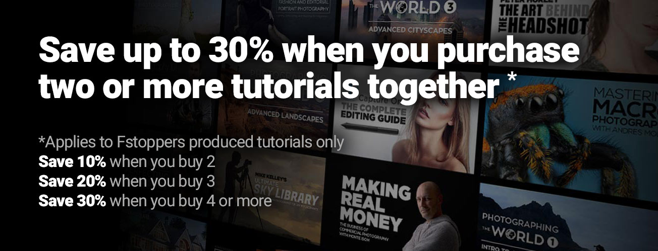 Save big when you purchase two or more tutorials together